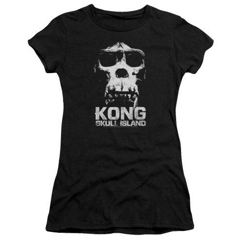 KONG SKULL ISLAND - KONG SKULL-ADULT HEATHER-BLACK