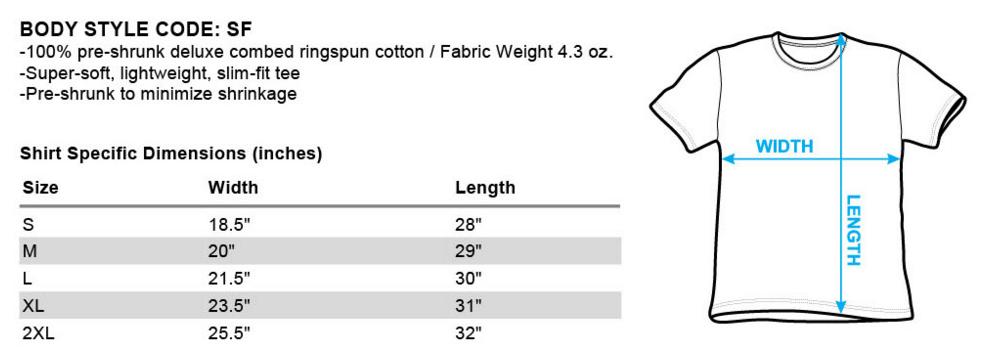 Adult Regular Fit Short Sleeve