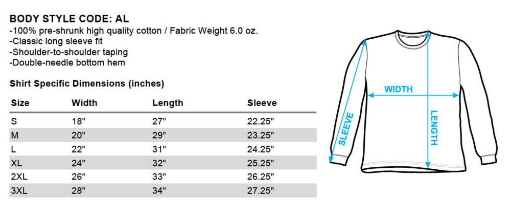 Unisex Long-Sleeve (LS)