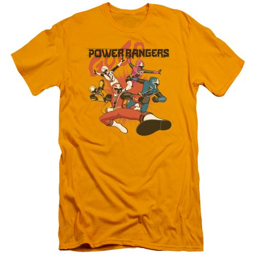 POWER RANGERS - ATTACK-HBO SS ADULT 30-1-GOLD
