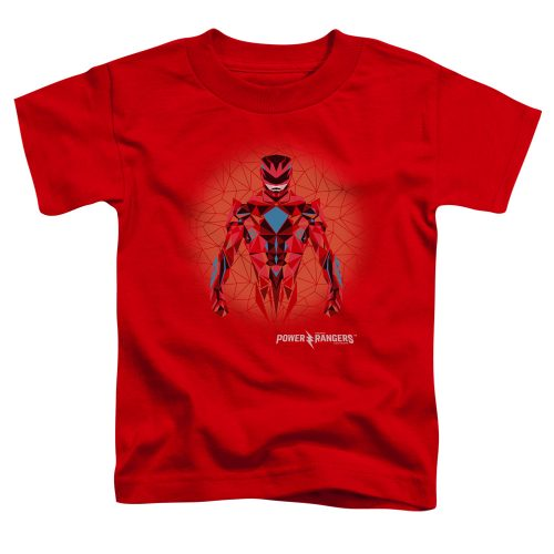 POWER RANGERS - RED POWER RANGER GRAPHIC-SS TODDLER TEE-RED